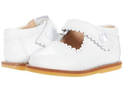 Elephantito Mary Jane (Toddler) (White 1) Girls Shoes