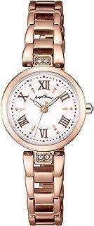 [エンジェルハート] 腕時計 Sparkle Time ホワイト文字盤 スワロフスキー ST24PG レディース ピンクゴールド