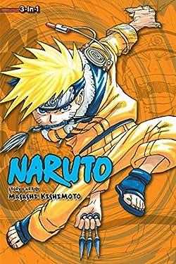 Naruto (3-in-1 Edition), Vol. 2 by Masashi Kishimoto (July 5 2011)