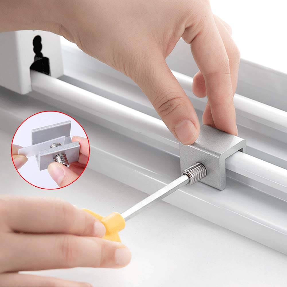 Xiangmall 6 PCs Ajustable Cerraduras de Ventana Aluminio Cierre ...