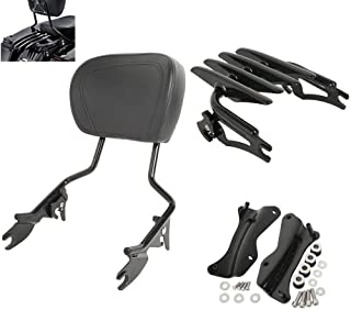 TCMT Detachable Passenger Backrest Sissy Bar With Stealth...