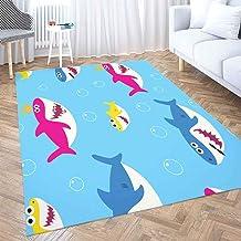 CDHBH Beach Theme Beach Shoes Home Hotel Room Door Floor mat Bathroom Bedroom Kitchen Living Room Childrens Carpet Non-Slip Material Flannel 40x60cm