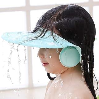 Yorten Hair Wash Cap Shower Baby Cap Soft Bathing Baby Eye Ear Protector Hat for New Born Infants babies Boys Girls (Multi...