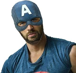 Handmade Avengers Superhero Mask Comics Classic Latex Captain America Helmet Halloween Party Cosplay Costume Helmet Grey