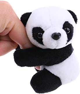 Yiphates Plush Animal Clip Clip-On Critter Panda Clip Note Clip Stand Photo Holder Stand Memo Clip for Home Office Use