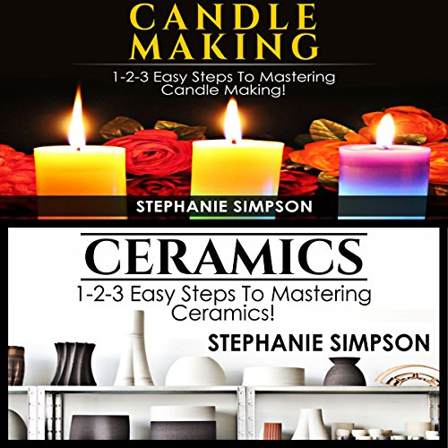Candle Making & Ceramics audiobook cover art