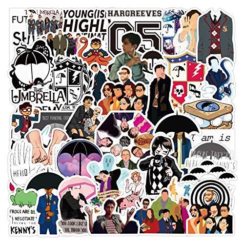 The Umbrella Academy Stickers| 50 Pcak | Vinyl Waterproof...