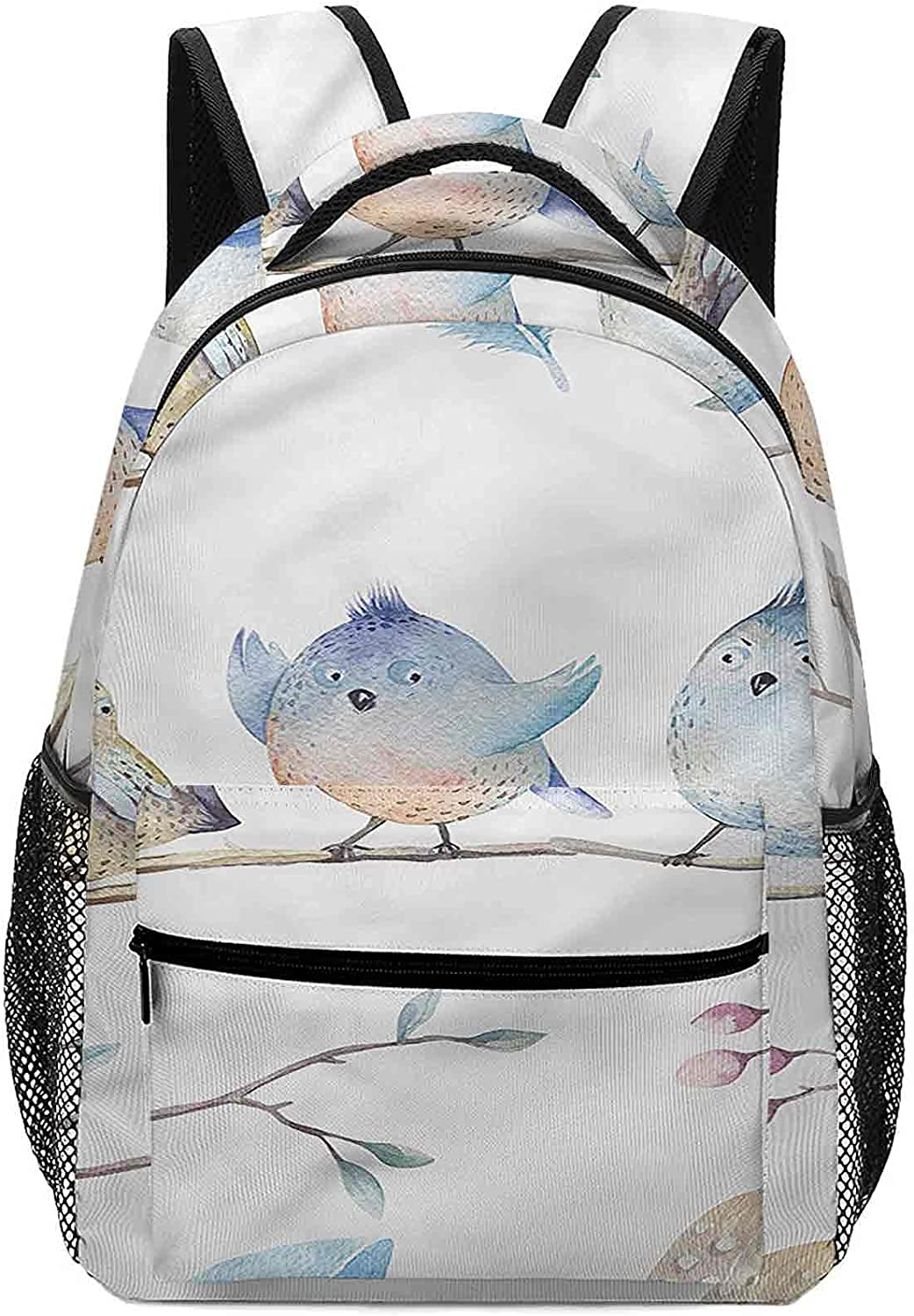 16.5 Inch Backpack for Boys Girls Perfect Outstanding Birds on Excellence Perching