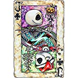 5D Diamond Painting Crystal Rhinestone Painting Kits for Adults and Beginners Skull Pumpkin Halloween Décor Full Drill Kit by Number Arts Craft for Home 12x16 Inches