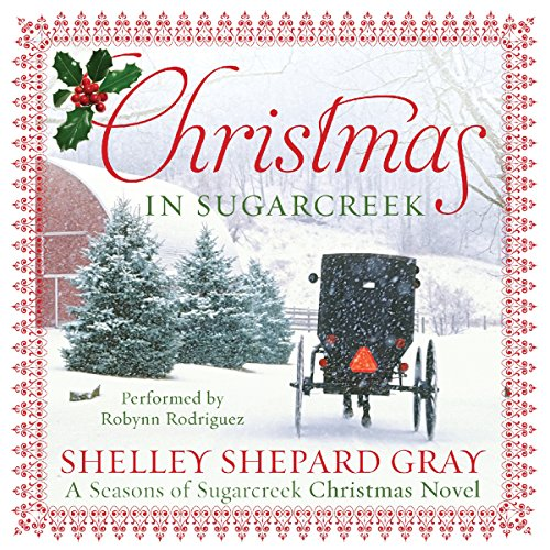 Christmas in Sugarcreek audiobook cover art
