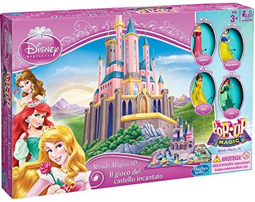 Disney Princess A6104103 - Il Gioco del Castello Incantato Mondo Magico 3D