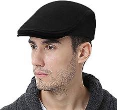 WETOO Men's Flat Cap Gatsby Newsboy Lvy Irish Hats Driving Cabbie Hunting Cap