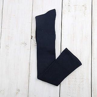 ZhiGe Mujer Calcetines hasta la Rodilla,3 Pares de Calcetines de algodón de Rodilla Largo Barril Plana Calcetines señora Boca Ancha Muslo Calcetines
