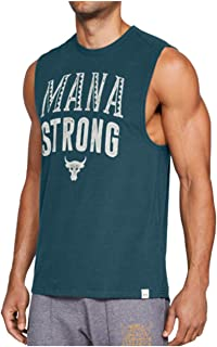4790f6c63363f8 Under Armour Men s UA x Project Rock Mana Strong Sleeveless Tank Top Shirt