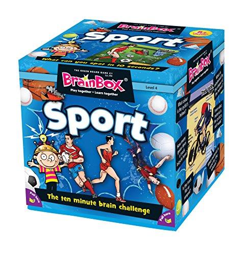 Brain Box - Gioco di abilità, Soggetto: Sport [Lingua Inglese]