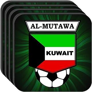 Bader Al-Mutawa (Kuwait) Soccer Set of 4 Coasters