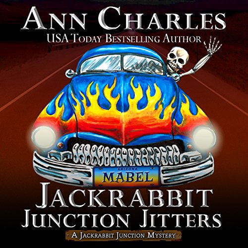Jackrabbit Junction Jitters audiobook cover art