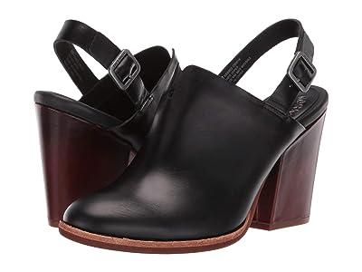 Kork-Ease Janelle (Black Full Grain Leather) Women