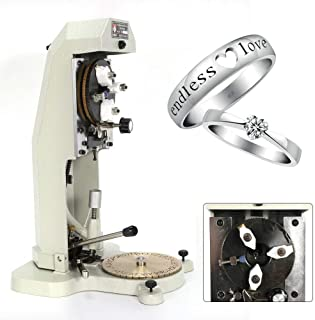 Máquina grabadora de anillos interiores Joyería manual Maquinaria de grabado Herramientas de joyería