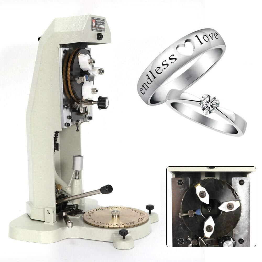 MOMOJA dentro de la máquina de grabado de anillo estándar Letter ...