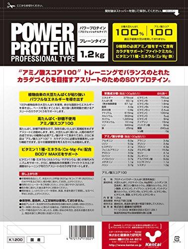 Kentaiパワープロテインプロフェッショナルタイプ1.2kg