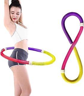 Cozywind Fitness Ejercicio Hula Hoop Hula Hoop de Primavera para Fina Cintura,Hagan Ejercicio,Yoga,Ejercicio Aeróbico