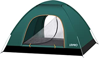 URPRO Instant Automatic pop up Camping Tent, 2-3 Persons Lightweight Tent, Waterproof Windproof, UV Protection, Perfect for Beach, Outdoor, Traveling,Hiking,Camping, Hunting, Fishing