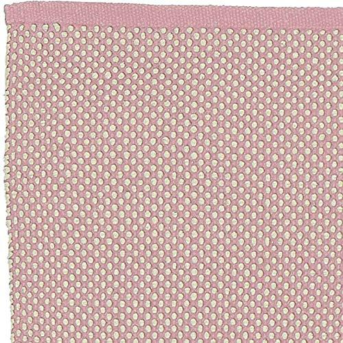 LIV INTERIOR Teppich DOTS rosa 200 x 70 cm