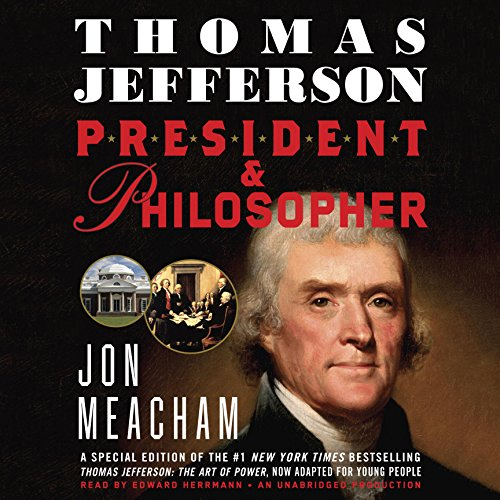 Thomas Jefferson: President and Philosopher audiobook cover art