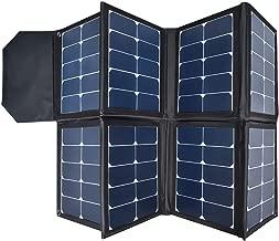 130W Portable Collapsible Solar Panel Charger SUNGZU Waterproof Nylon 600D Material Suitable for Mobile Phones, Laptops, Car Batteries, Generators