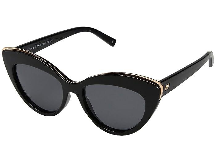 Le Specs Beautiful Stranger (Black/Black) Fashion Sunglasses