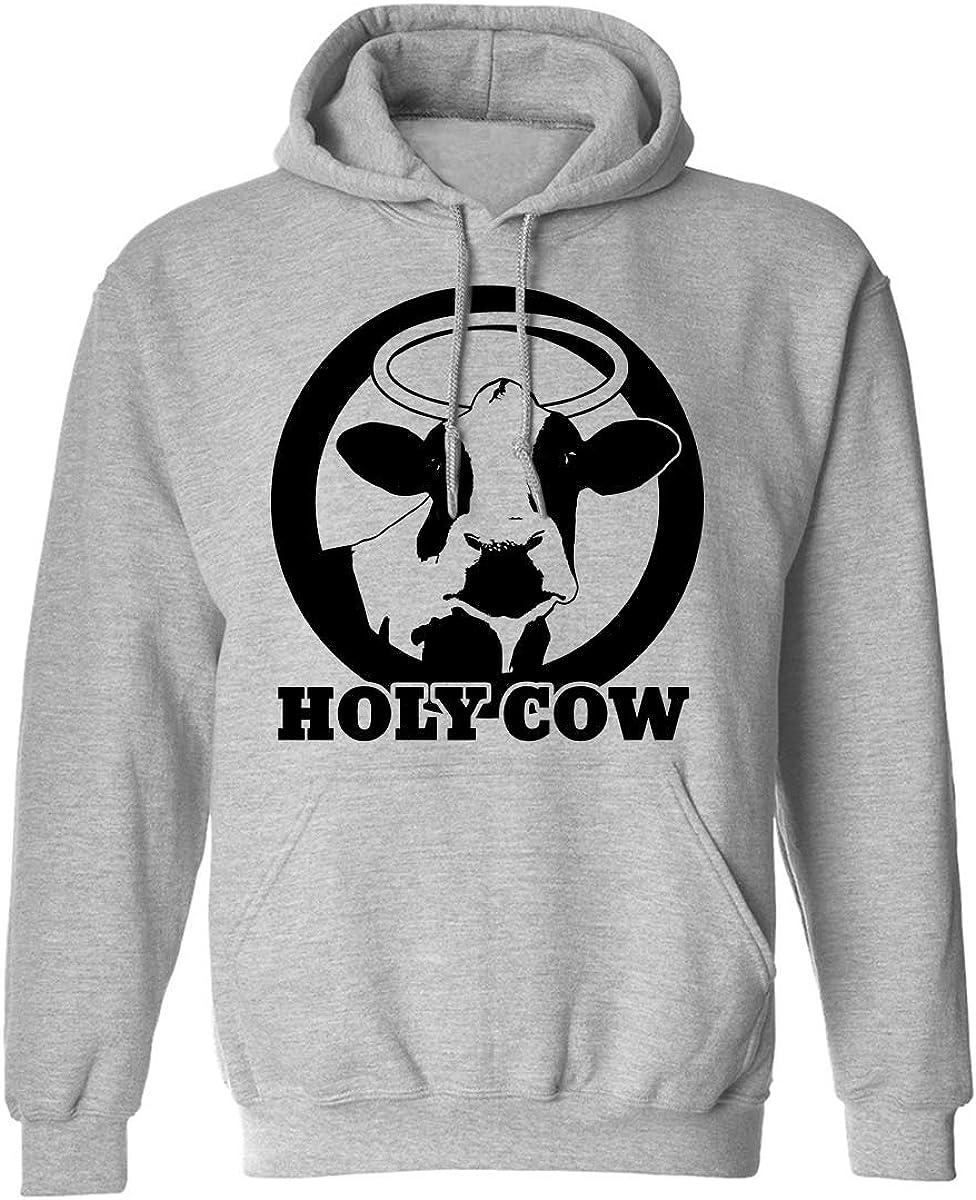 zerogravitee Sale HOLY Cow Sweatshirt Hooded Adult Manufacturer OFFicial shop