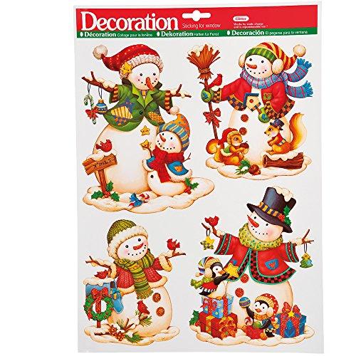 Carnival Toys 9706 - raamdecoratie Kerstmis