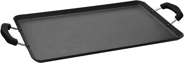 "Aramco 11 inch griddle Aluminum Teflon Classic non-stick, 19"" x 11"", Black"