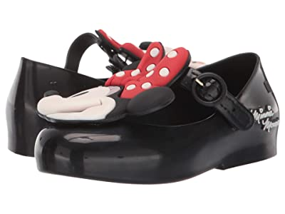 Mini Melissa Sweet Love + Minnie BB (Toddler/Little Kid) (Black) Girl