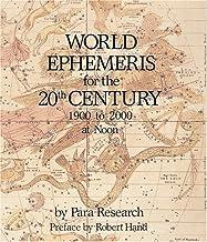 World Ephemeris: 20th Century, Noon