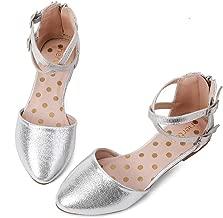 Best little girls silver sandals Reviews