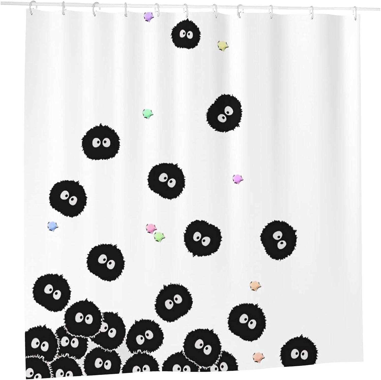 Spirited Away Anime Bathroom Shower Curtain Ranking TOP20 latest Liner W 72