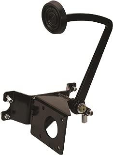 Black Universal Brake Pedal/Master Cylinder Frame Bracket