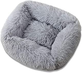 Gbrand Fuerlun Dog Bed, Square Calming Warming Plush Cuddler, XL Extra Large Dog Bed & Furniture Anti Anxiety Cushion Bed