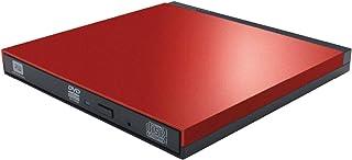 ロジテック ポータブルDVDドライブ USB3.0 書き込みソフト付 M-DISC対応 レッド LDR-PUE8U3LRD[macOS Big Sur 11.0 対応確認済]