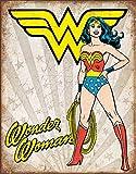 Desperate Enterprises DC Comics Blechschilder Wonder Woman