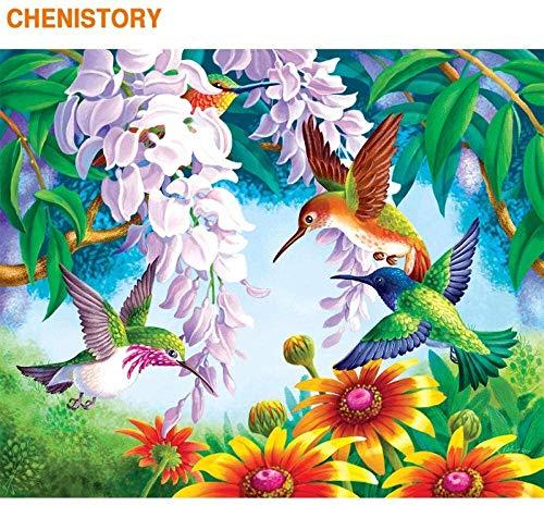 PNFP Rompecabezas Los Rompecabezas for Grown Ups 1000 Unidad for los niños for Adultos Juguetes de Madera del Color de la Flor del colibrí de Game Boy y Regalos de cumpleaños niña