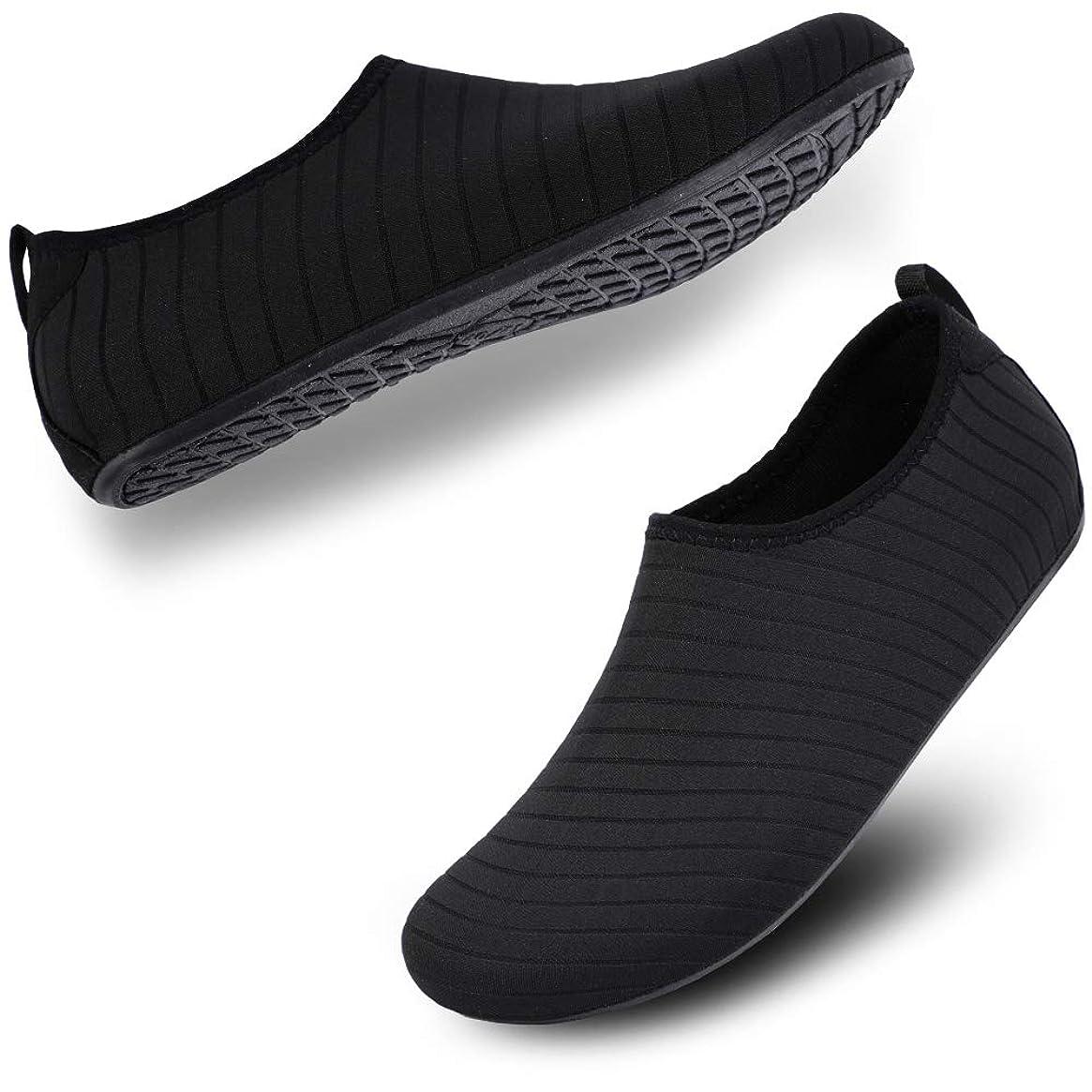 Lyncxx Women's Water Shoes Aqua Socks Quick-Dry Marine Shoes Barefoot Swim Shoes for Beach, Pool, Surf, Diving, Yoga