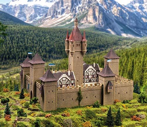 Vollmer 49910 Burg aus dem Mittelalter mit LED-Beleuchtung