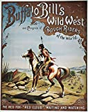 Buffalo BillS Show Poster Namerican Poster For Buffalo BillS Wild West Show Depicting The Native American Chief Red Cloud Poster Print by (18 x 24)