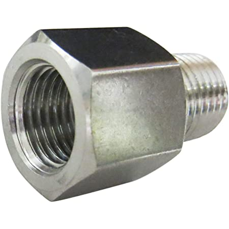 """Max Pressure 1000 PSI 1//8/""""-2/"""" NPT 304 Stainless Reducing Bush Forged Fitting"""