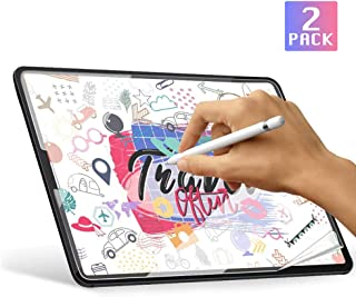 [2 Pack]Paper-Like iPad Pro 11 Screen Protector(2020 & 2018 Models), Absone High Touch Sensitivity Ipad Matte PET Film for Drawing Anti Glare Scratch Resistant Film and Paper Texture, Compatible with Apple Pencil & Face ID[Not Glass]