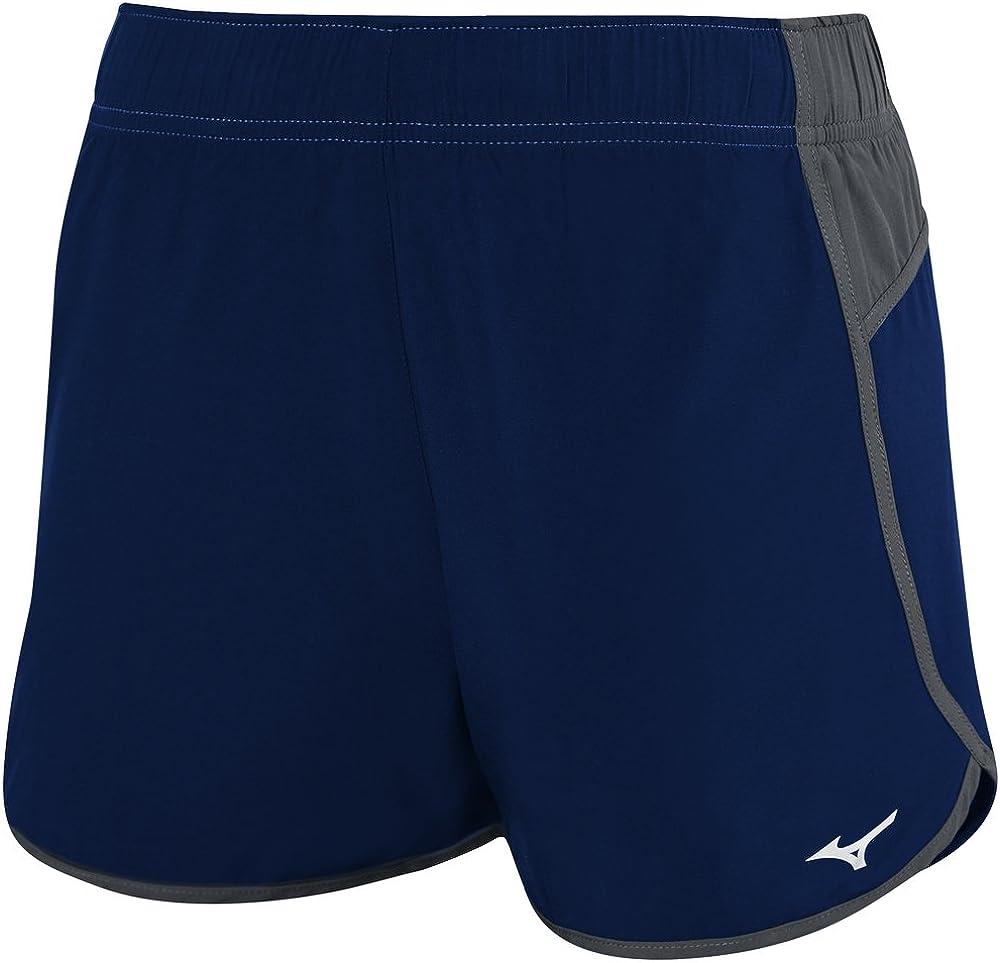 Mizuno Atlanta Cover Up Volleyball Shorts Navy/Charcoal
