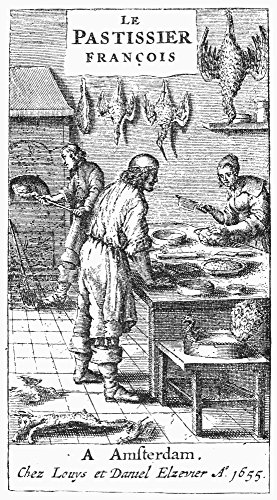 Le Pastissier Franois Ntitle Page And Frontispiece To The French Cookbook Le Pastissier Fran?Ois Published In Amsterdam By Louys And Daniel Elzevier 1655 Poster Print by (18 x 24)